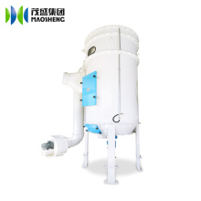 Dust Collector with Air Jet for Seed Processing