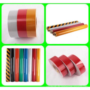Reflektierende Kunststofffolie mit hoher Intensität
