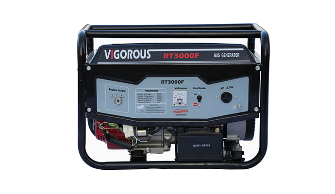 2KW Portable Nautral Gas Powered Generator