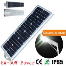 25W Solar do diodo emissor de luz de rua e uso de estrada