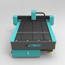 Máquina de corte a plasma de metal CNC em aço