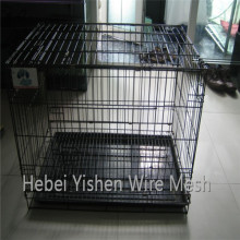 Wire mesh dog cages pet cage folding cage