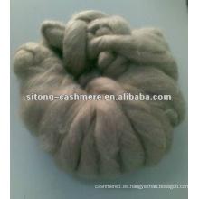 Tapas de fibra de cachemira puras para el uso del hilado