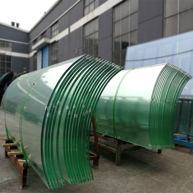 Curved Laminated Glass Toughened