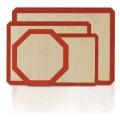 BSCI Fabrik Kundenspezifische Antihaft-Silikon-Backmatte