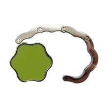 Promotion Foldable Custom Print Logo Porte-sac à main fleur (F2011)