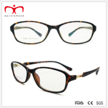 Ladies Plastic Reading Glasses with Metal Decoration (WRP507276)