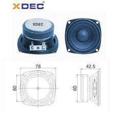 Хороший звук 78 мм ферритовый магнит динамик 15 Вт 4 Ом
