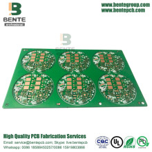 TG135 Multilayer PCB Dickes Gold