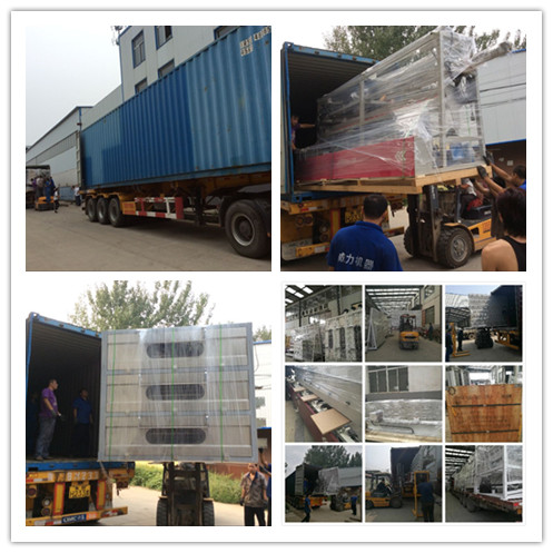 package and delivery of insulating glass production line