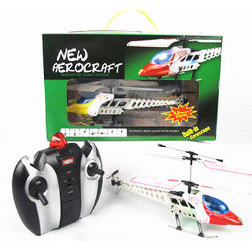 Spielzeug Hubschrauber Motor Legierung Funksteuerung 3.5CH Hubschrauber w / LED