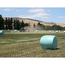 Película de envoltura de ensilaje LLDPE negro / blanco / verde
