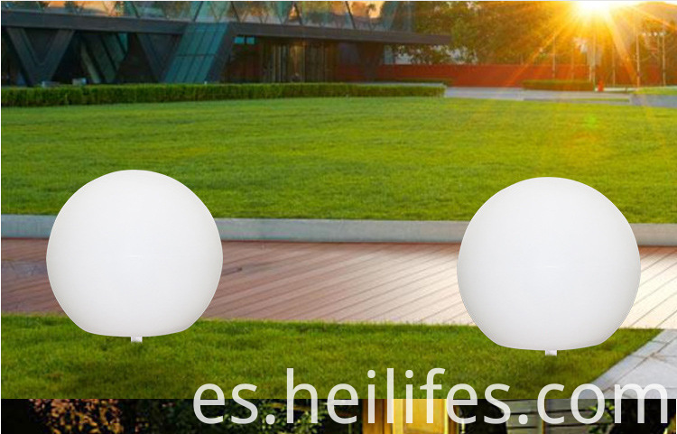 LED lawn Ball light Solar Recharge