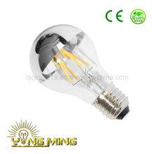 Ampoule argentée du miroir LED de l'ÉPI A60 avec l'approbation de la CE RoHS