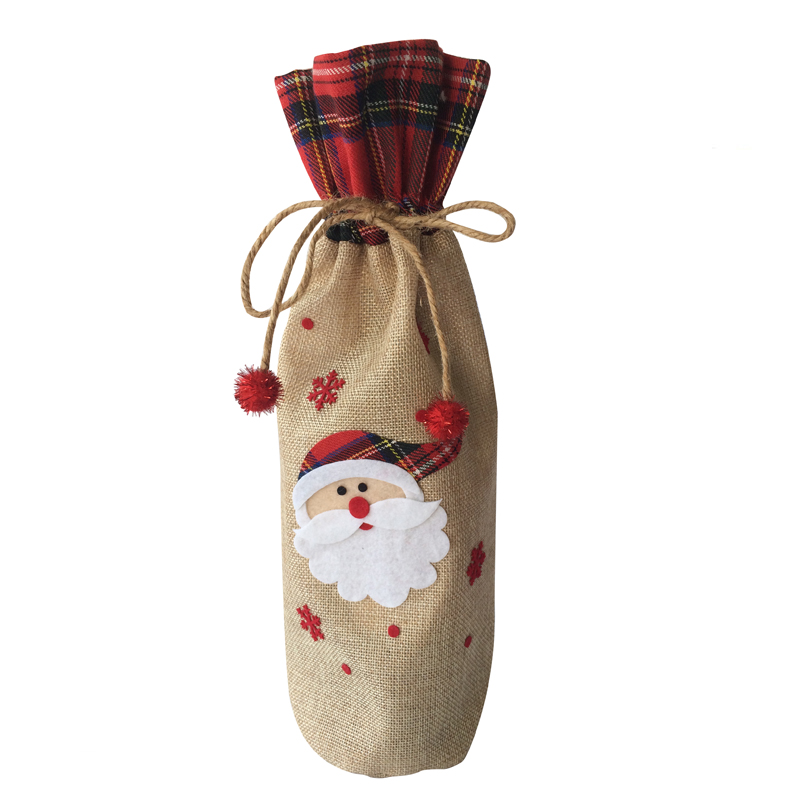 Christmas Cute Wine Bottle Cover