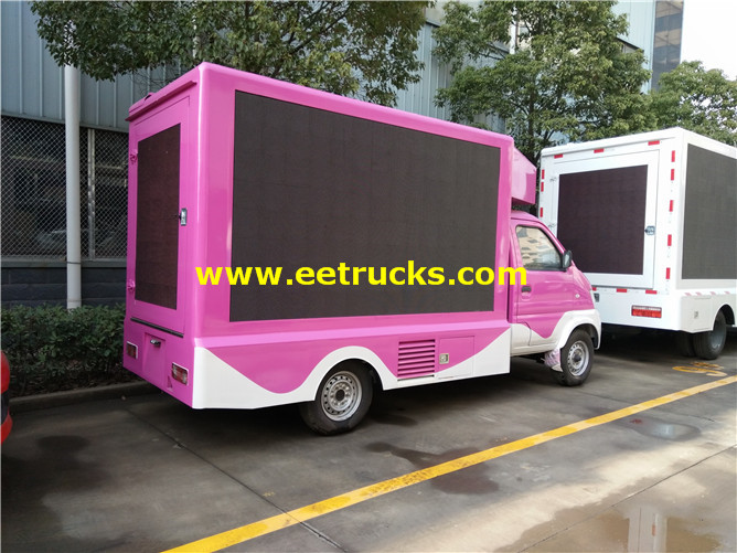 outdoor LED Mobile Advertising Vehicles