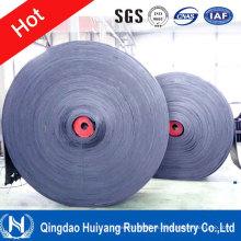 China Banda transportadora de goma reforzada malla del alambre de acero St2000