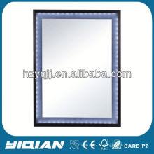 Espelho retrovisor de espelho moderno espelho led