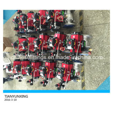 ISO 5211 High Mounting Pad Casting Stainless Steel Ball Valve
