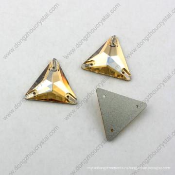 Декоративные ДЗ-3069 треугольник форма шить на камень для одежды из Китая от производителя