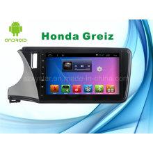Para Honda Greiz Android System Car DVD Player Navegación GPS para 10.1inch pantalla táctil con Bluetooth / WiFi / TV