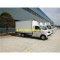 Mini furgonetas refrigeradas 4x2 de 1 tonelada