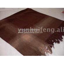 Wholesale plaid wool scarf/shawl