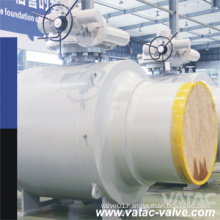 Cast Steel All Weld Ball Valve with RF or Bw Ends