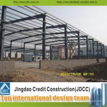 Entrepôt et bâtiment en acier préfabriqués professionnels