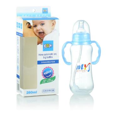 Bouteille à vide de 10 oz PP Bouteille d'alimentation Bouteilles de lait pour bébés adultes Mélanger des couleurs