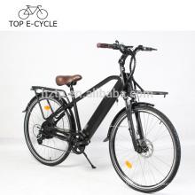 Nouveau design e vélo électrique ville route vélo vert puissance 250 W 500 W 750 W Vintage ebicycle