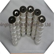 Aimant de néodyme/NdFeB de bloc de haute qualité pour moteurs à courant continu