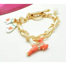 Bijoux de Noël / Bracelet de Noël / Cerf de Noël (XBL13138)