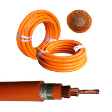High flexible EVP EV cable silicone rubber insulation Halogen free with shield