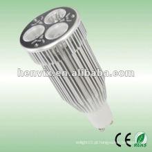 9W GU10 luz do ponto do diodo emissor de luz