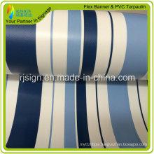 High Quality Coated Stripe PVC Tarpaulin for Tent Turck Covers PVC Tarpaulin
