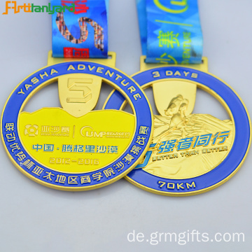 Neueste Design Metal Medal With Ribbon