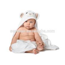 Weiches Bio-Bambus-Baby-Kapuzenhandtuch mit einzigartigem Design, antibakteriellen und hypoallergenen Premium-Babyhandtüchern