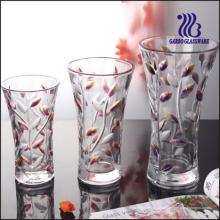 Vase en verre coloré (GB1510SY / PDS)