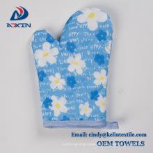 sistema personalizado de la toalla de cocina de la microfibra del poliéster de la impresión de la foto 100%