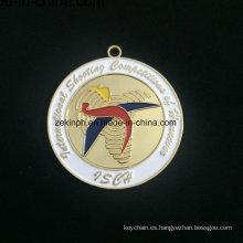 Medalla de la aleación de Znic personalizado de Isca oro medalla medalla moderna