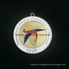 Custom Znic Alloy Medal for Isca Gold Medal Modern Medall