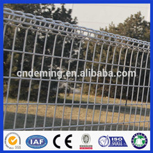 DM high quality steel wire welded Double Loop Decorative fence from Alibaba