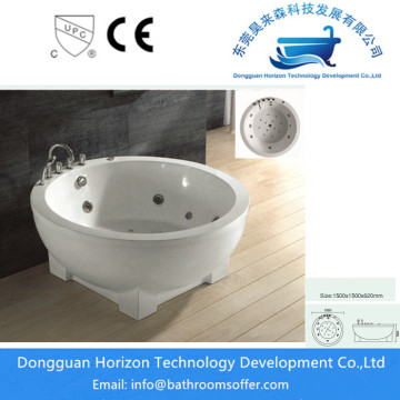 Round massage bath jacuzzi round bath