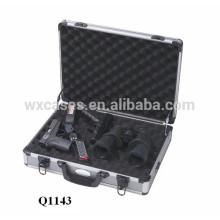 pistola de aluminio de alta calidad maletín con espuma interior venta caliente fabricante