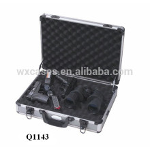 high quality aluminum pistol carrying case with foam inside manufacturer hot sell