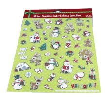 Cute Color Christmas DIY Pvc Mini Decorative Children Gift Stickers