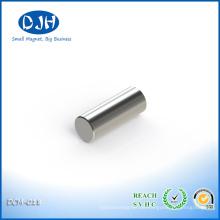 Durchmesser 3 * Dicke 8 mm gesinterte Neodym-Eisen-Bor-Magnete