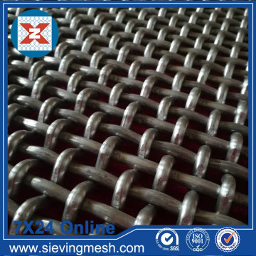 Meshes Woven Wire Crimped