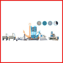 Rubber, PVS/TPR/EVA two-shaft hi-speed recyled granulator(water cooling)